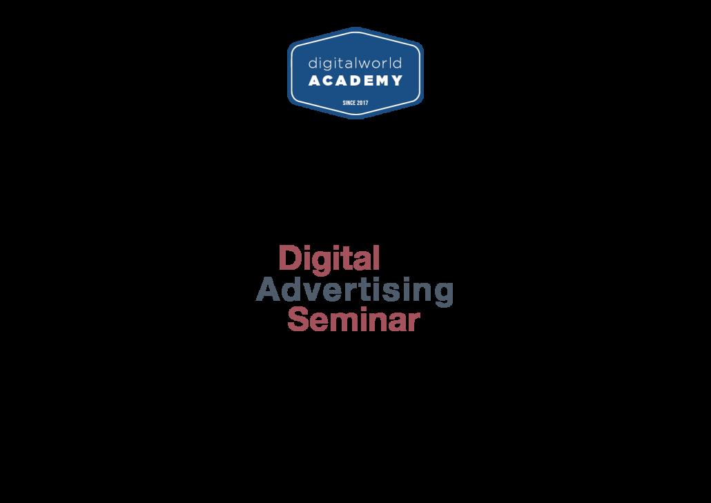 Das Seminar Online Werbung gibt eine Urkunde aus.